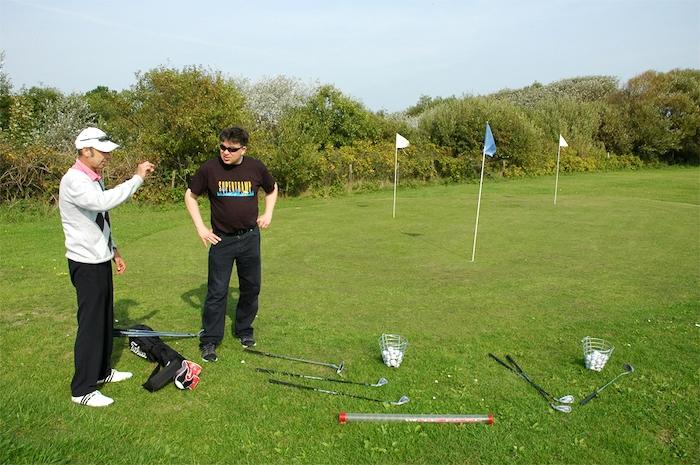 Golfplatz auf Wangerooge
