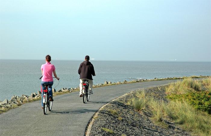 Fahrrad fahren auf Wangerooge
