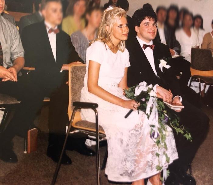 Hochzeitsfeier 1998 - Elischeba und Pierre Wilde