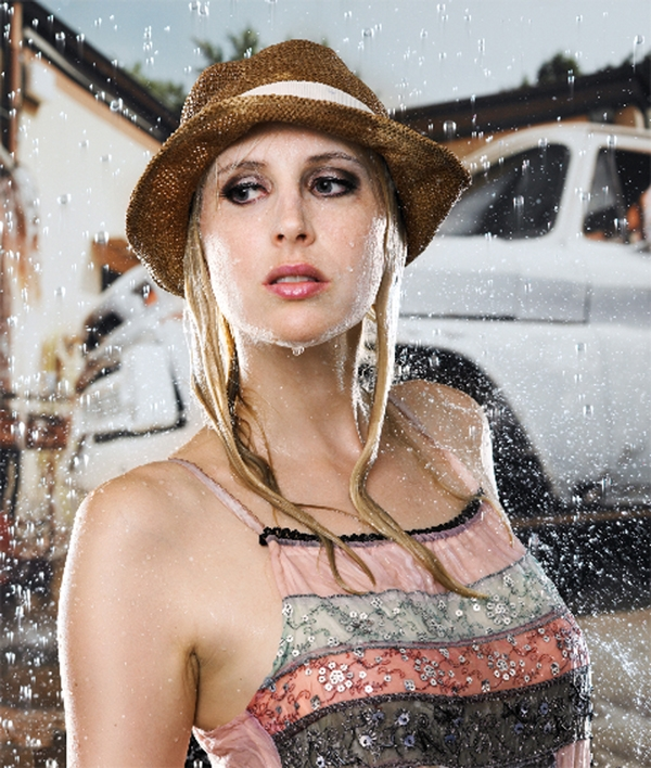 Elischebas wet look fashion Shooting mit Boris Zorn