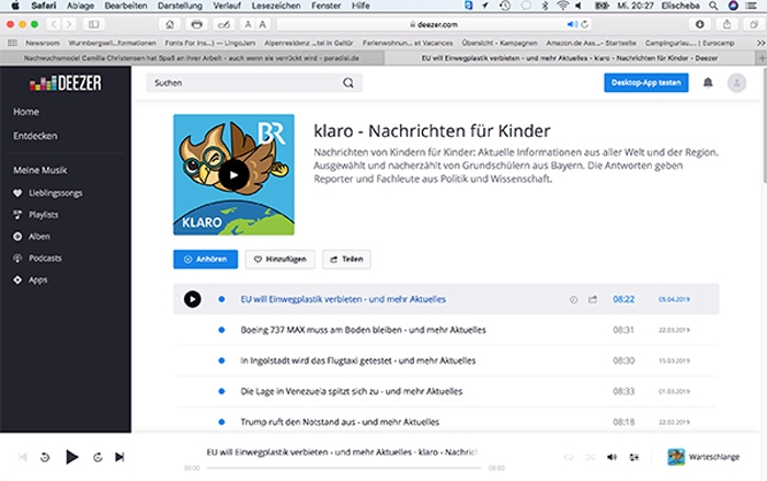 Deezer for Kids