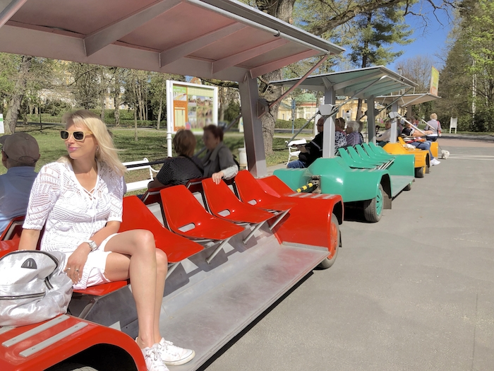 Minizug zum Amerika-See Franzensbad
