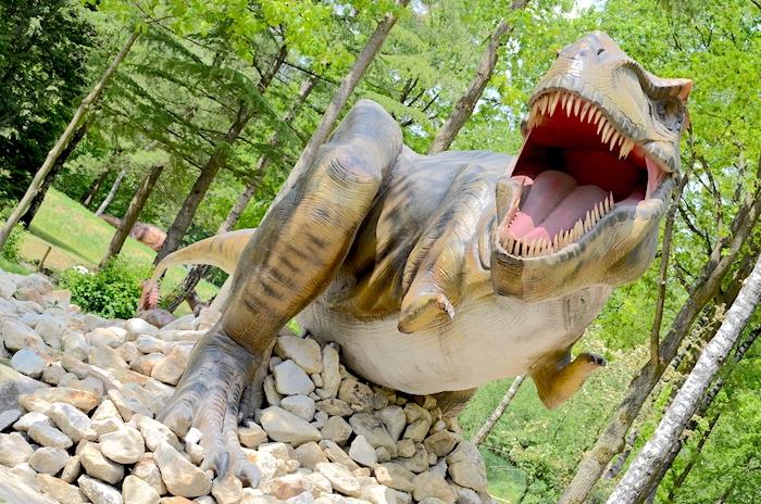 Park für Kinder Dinosaurier