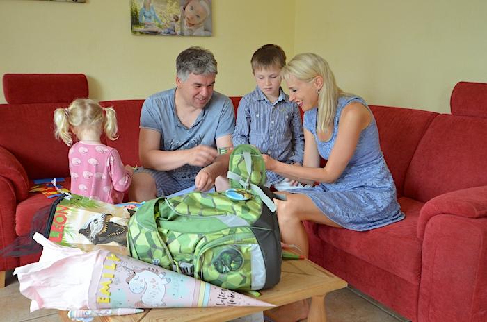 Schultüte auspacken - Mamablog