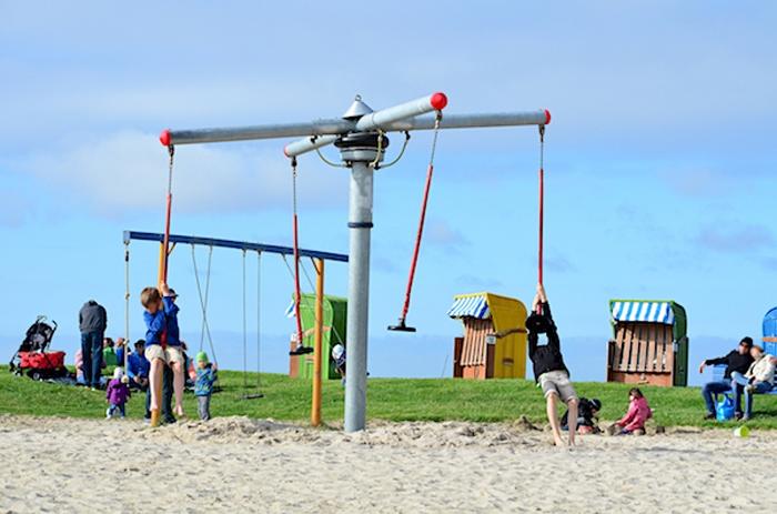 Spielplatz an der Nordsee