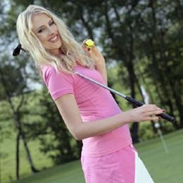 Elischebas Fotoshooting auf dem Golfplatz - Golfclub Varmert