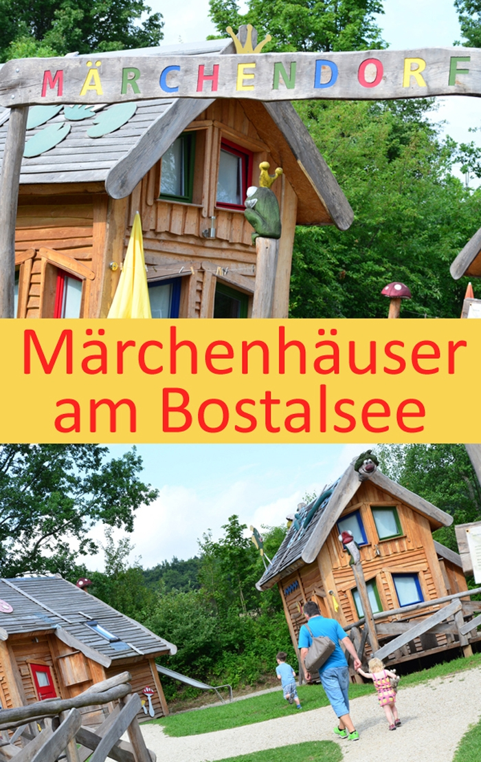 Maerchenhaeuser am Bostalsee