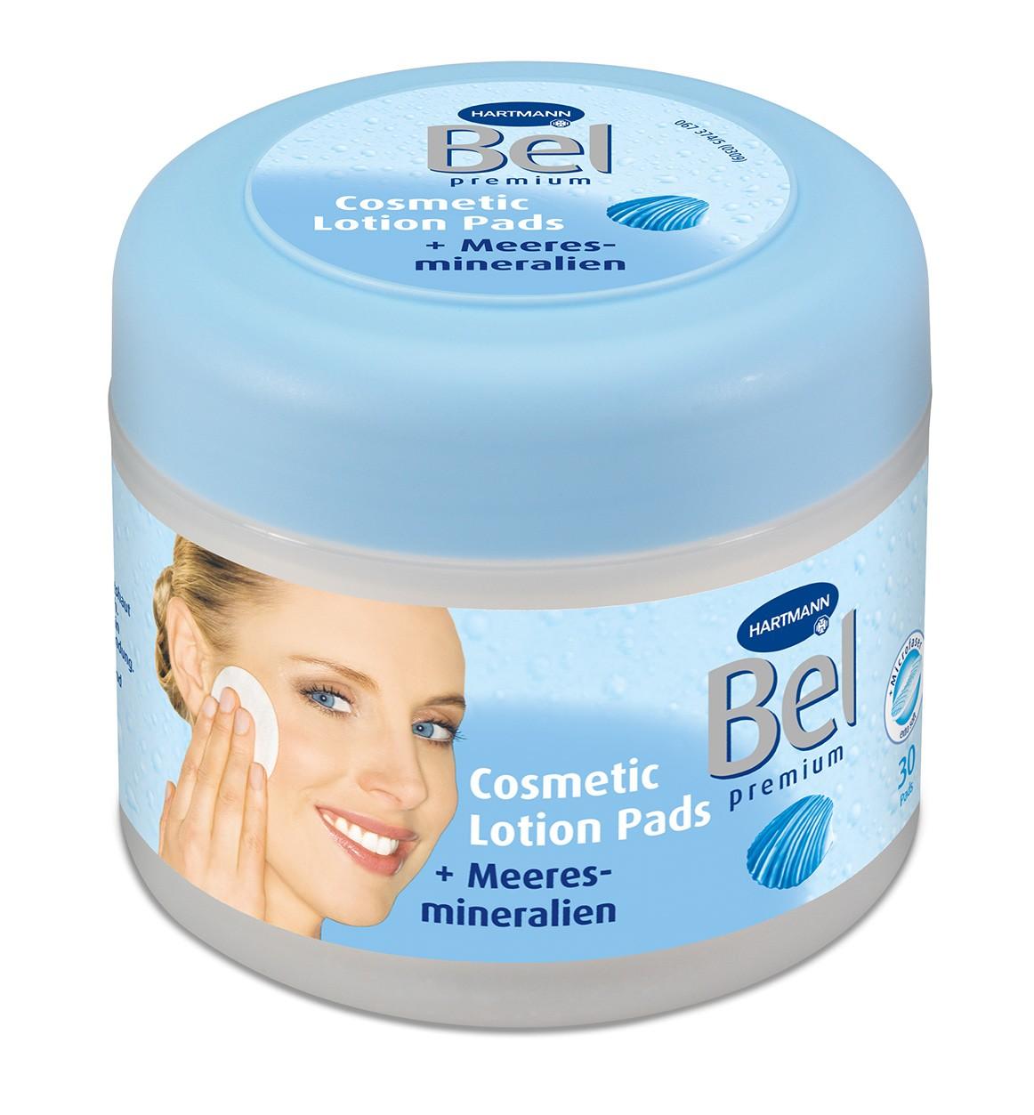 Bel Cosmetic Lotion Pads mit Meeresmineralien von Hartmann