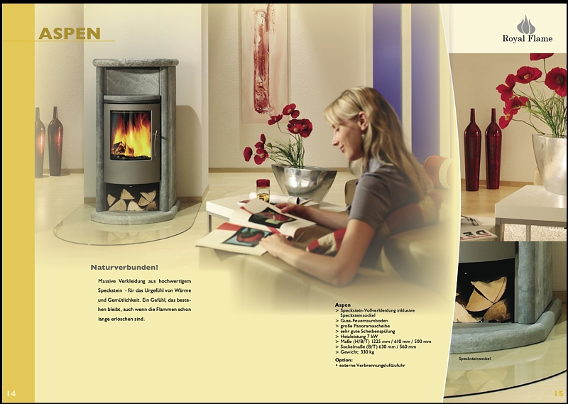 Elischeba Werbemodel für Royal Flame