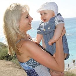 Elischebas Fotoshooting mit Baby Leon auf Teneriffa