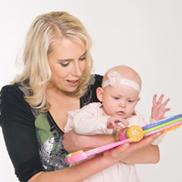Elischebas Family Shooting mit Baby Emily