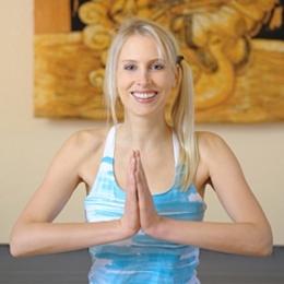 Elischeba Yoga Fotoshooting in Nierstein