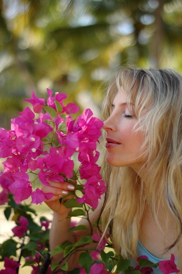 Elischeba Wilde - Portrait in pink
