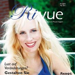 Elischeba Wilde - Cover Rivue Frauenmagazin