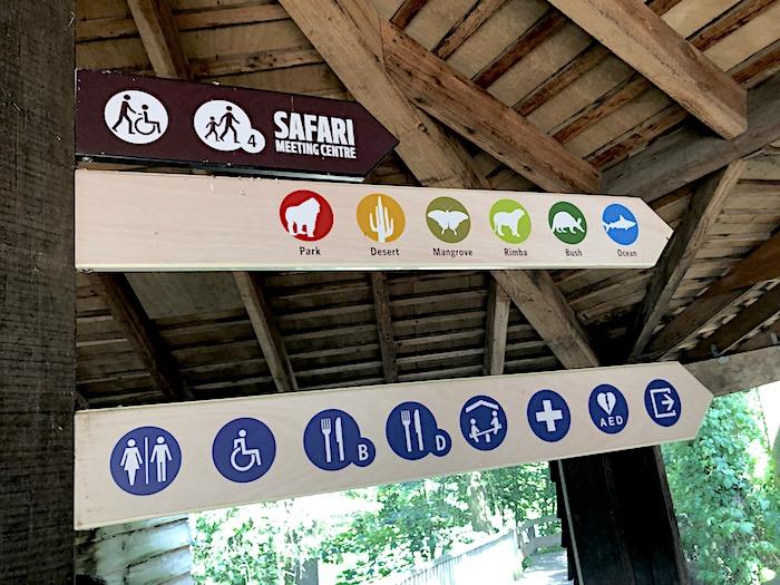 Uebersicht Burgers Zoo