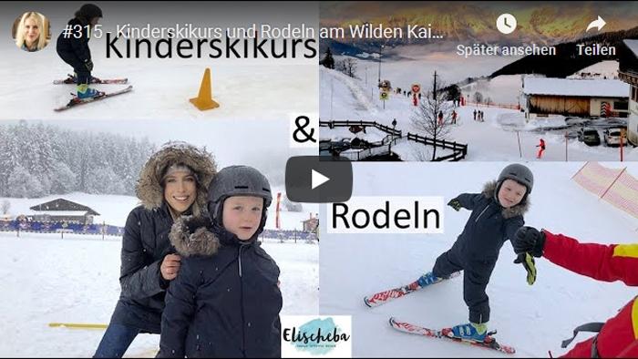 ElischebaTV_315 Kinderskikurs und Rodeln am Wilden Kaiser
