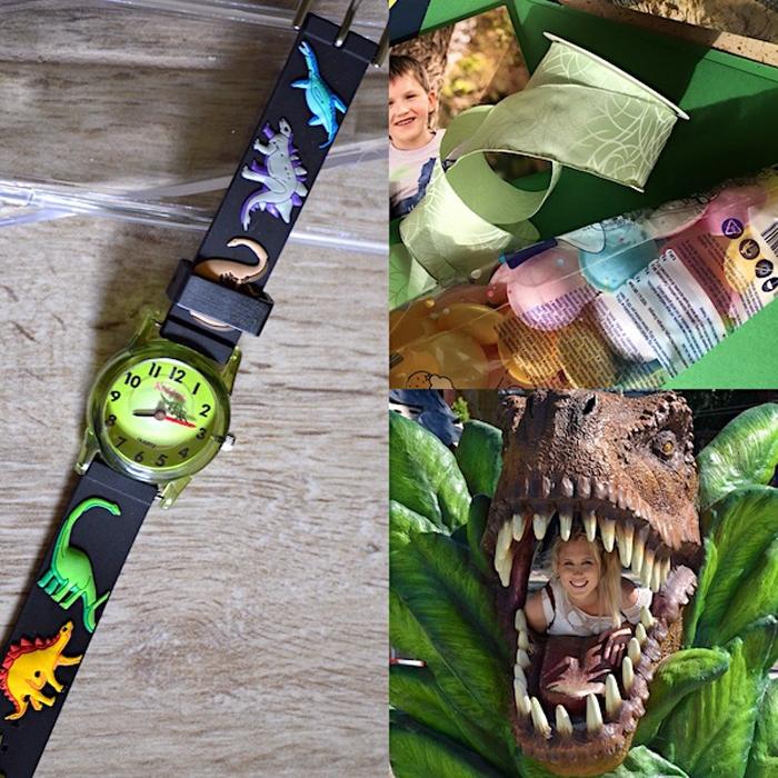 Dinosaurier-Uhr