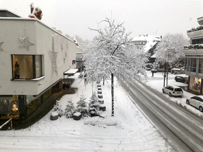 Harry´s Home in Dornbirn - Blick aus dem Fenster