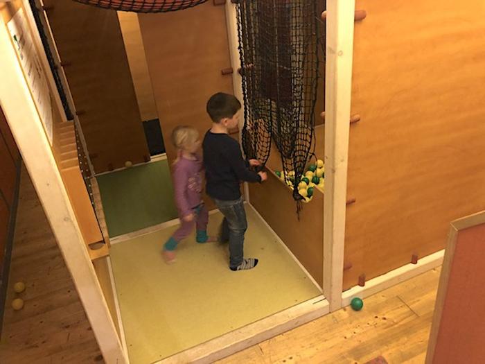 Indoor Spielplatz im Aktiv Hotel Hochfilzer