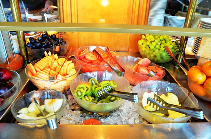 Obst am Buffet in Sankt Goar