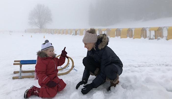 Urlaub im Schnee am Wilden Kaiser