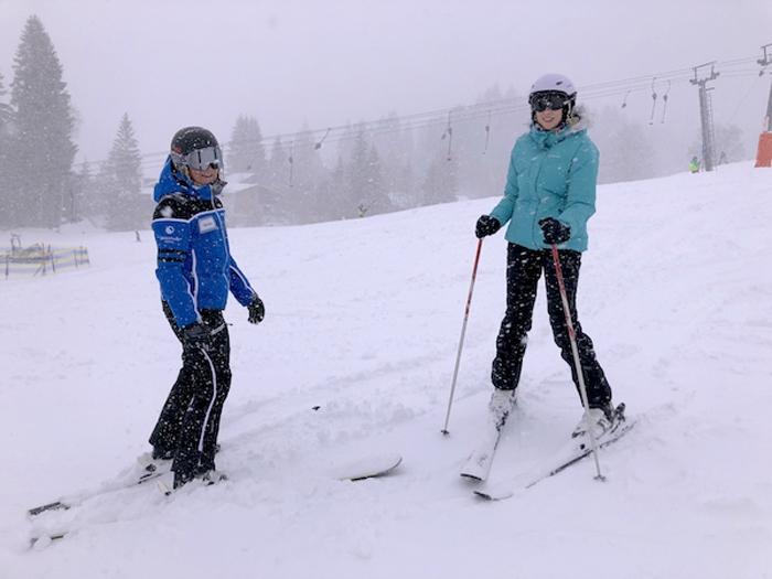Skifahren lernen am Bödele Einzelkurs