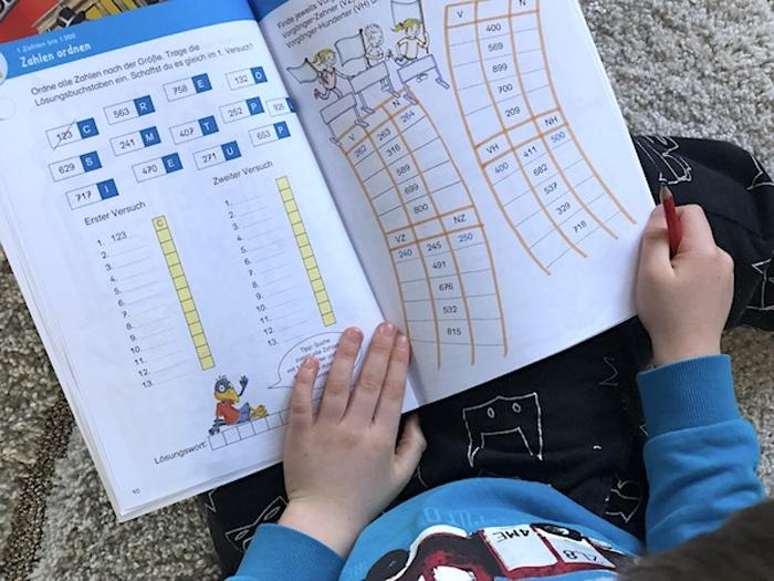 Zahlen ordnen mit Linus