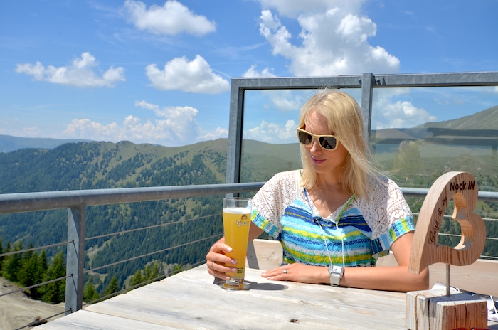 NOCK IN Gipfel Panorama Restaurant Hunger und Durst