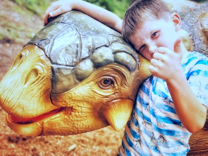 Dinopark Bayern mit Kindern