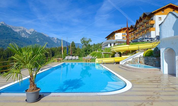 Glocknerhof Pool Sommer