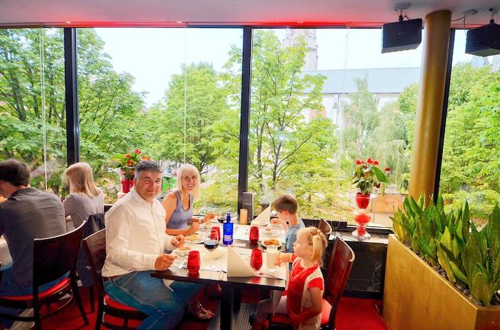 Restaurant Leander im GOP in Essen