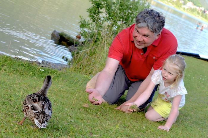 Weißensee mit Kindern