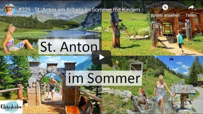 ElischebaTV 329 St. Anton am Arlberg im Sommer mit Kindern