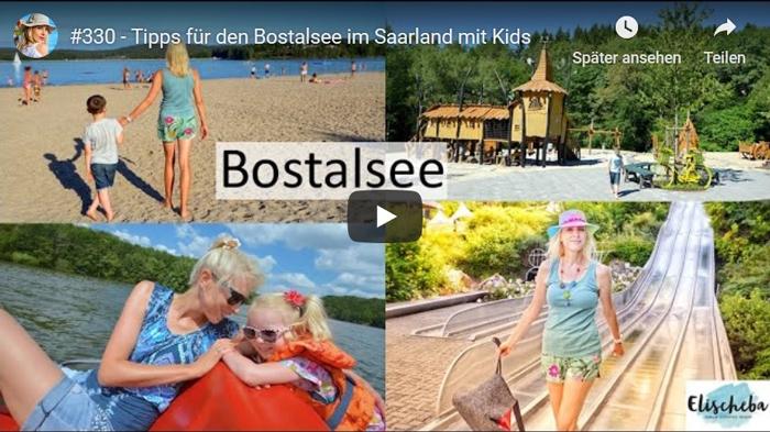 ElischebaTV 330 Tipps für den Bostalsee im Saarland mit Kids