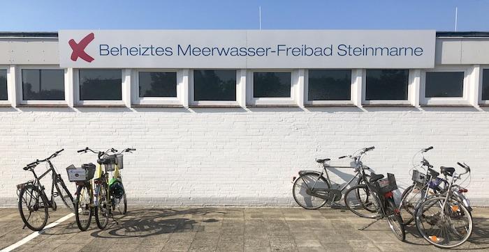 beheiztes Meerwasser-Freibad Steinmarne