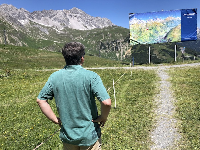 Berg Galzig bei St. Anton am Arlberg
