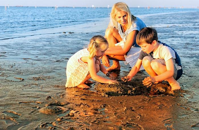 Cuxhaven im Sommer mit Kindern