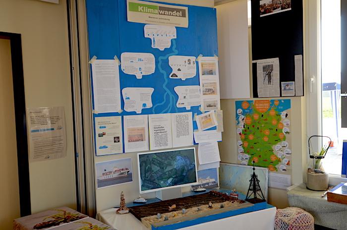 das blaue Klassenzimmer Cuxhaven Klimaschutz