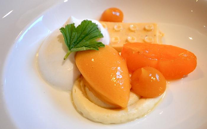 Dessert im Hotel Gletscherblick