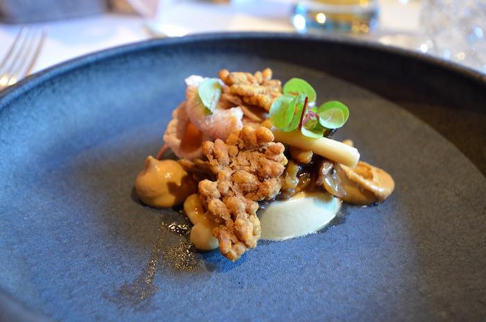 Gruß das Hauses Hotel Gletscherblick Kulinarik