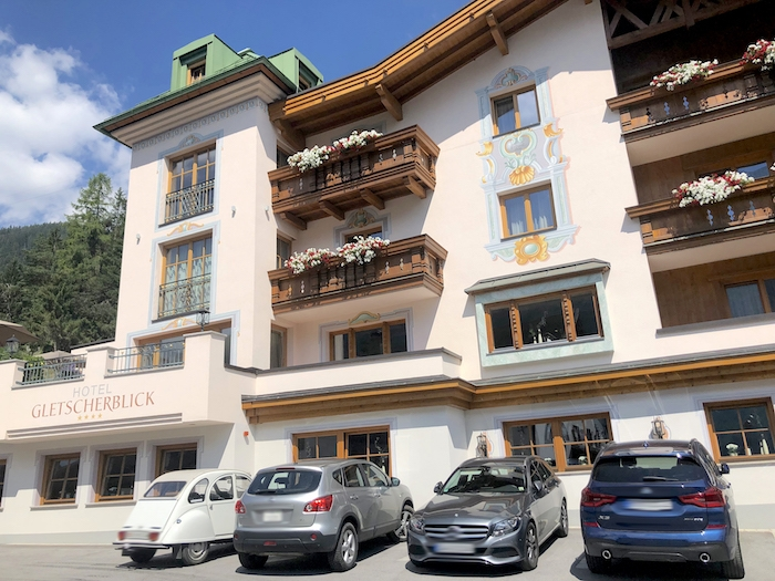Hotel Gletscherblick in St. Anton am Arlberg