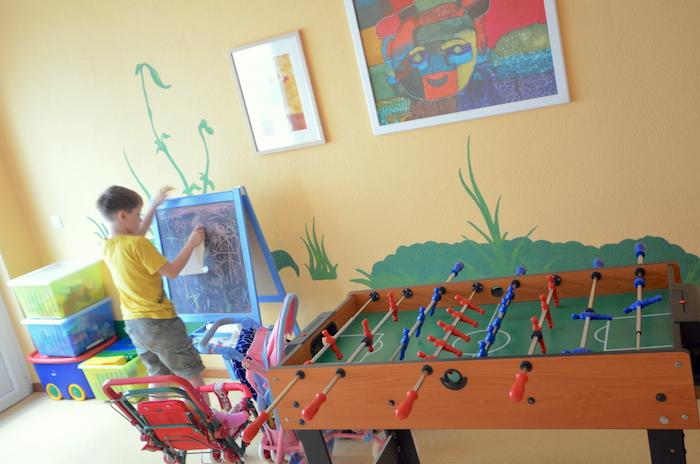 Spielzimmer im Hotel Gletscherblick in St. Anton am Arlberg