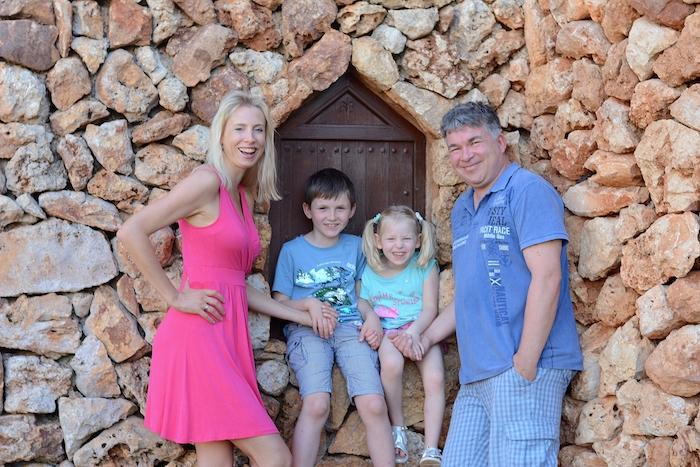 Familie Wilde auf Mallorca