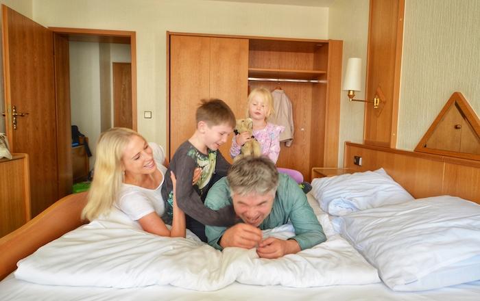 Hotelzimmer Lingen Familie