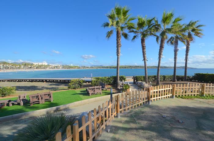 Mallorcas Ostküste - Blick auf die Bucht von Sa Coma