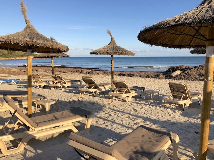 Strand von Sa Coma auf Mallorca