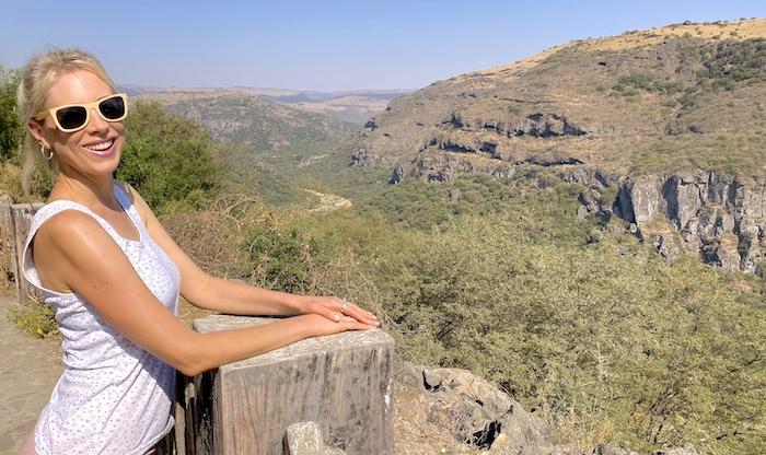 Elischeba Wilde im Oman