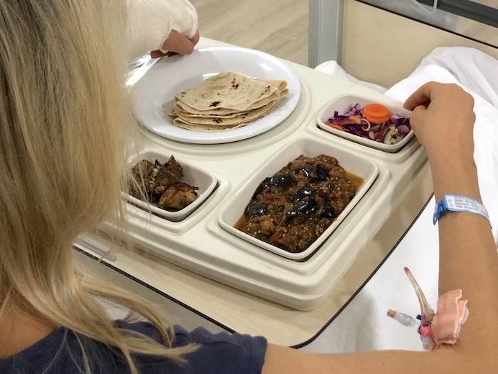 Essen im Krankenhaus im Oman
