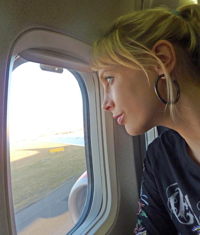 Gedanken im Flugzeug - Elischeba Wilde