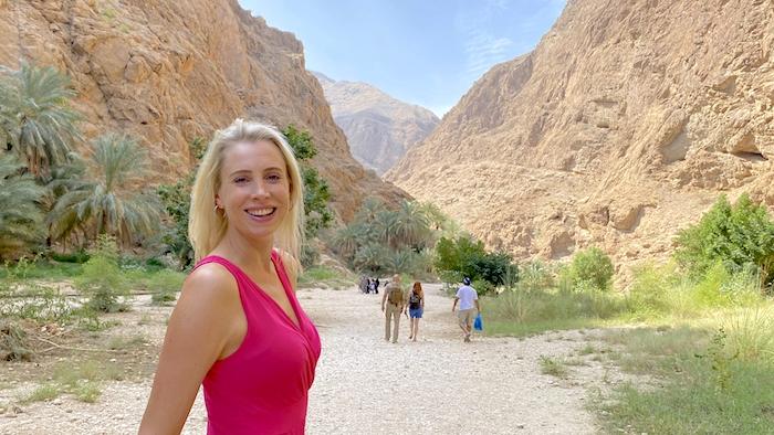 Elischeba Wilde - Tipps für das Wadi Shab im Oman